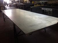 Alluminio prima del trattamento con Polysil industriale